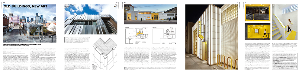 Canadian Architect Article Spread